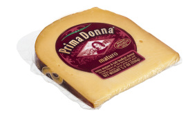 Prima Donna cheese packaging