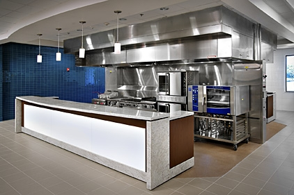 Test Kitchen Design primus builders completes construction of sysco food test kitchen