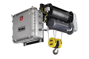 CMCO wire rope hoist
