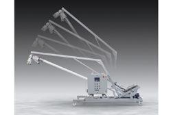 Flexicon tilt down conveyor