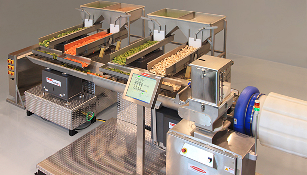 Heat and Control Fastback blending conveyor