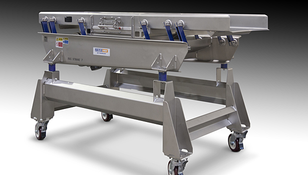 Key Tech Isoflow vib conveyor