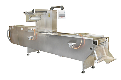 Rollstock vacuum packaging machine