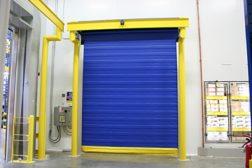 ASSA Abbloy cold storage door