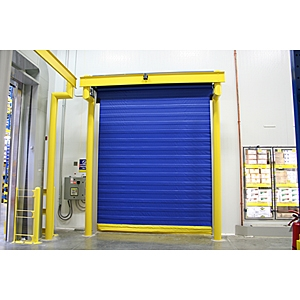 ASSA Abbloy cold storage door