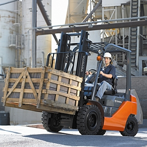 Toyota 8 series forklift