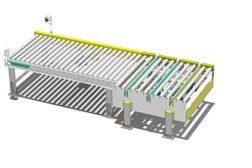Westfalia chain driven conveyor