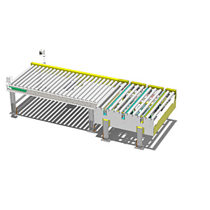 Westfalia chain driven conveyor