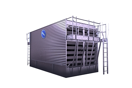 Cooling Tower With Quieter Fan 2014 02 25 Refrigerated Frozen Food