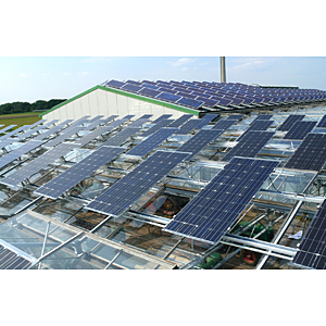 Agriculture Solar roofing systems