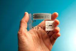 Thin Film temp sensor tag