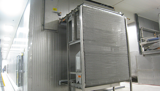 Advanced IQF freezer