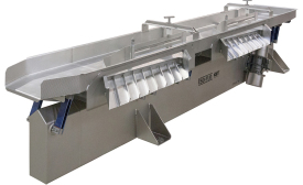 Key Tech Iso-Flo Monobeam conveyor