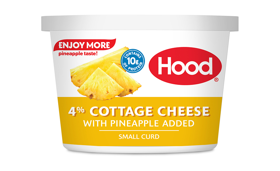 Hood cottage cheese pineapple
