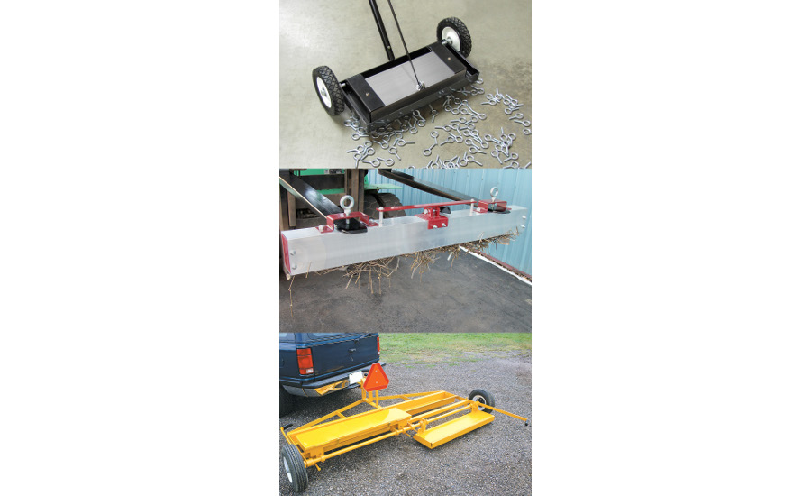 Magnet Source sweeper trio
