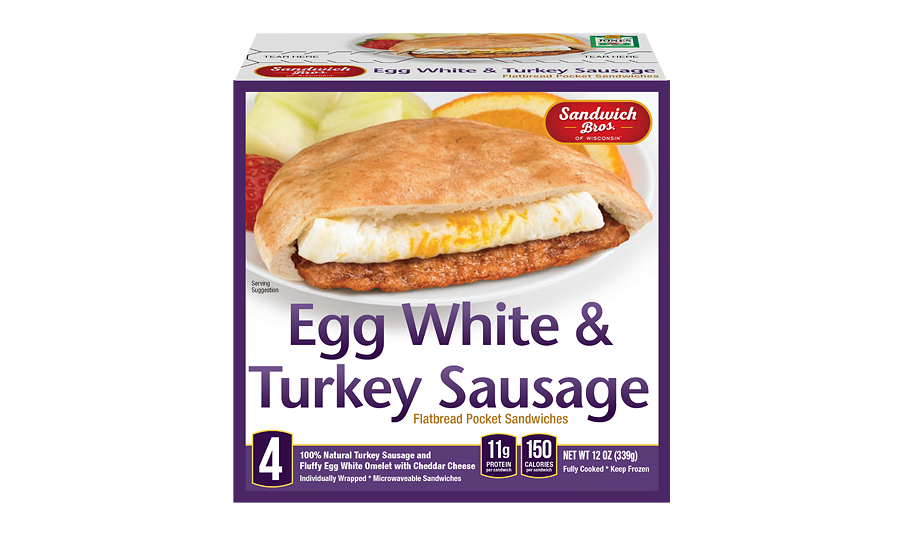Kangaroo 4 Ct Egg White & Turkey Box