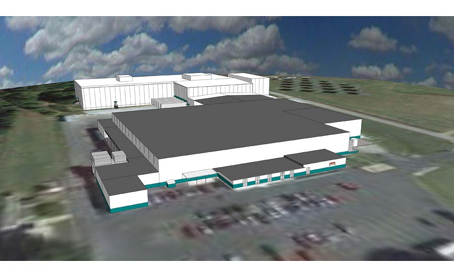 Bongards' Humboldt, TN Facility Rendering
