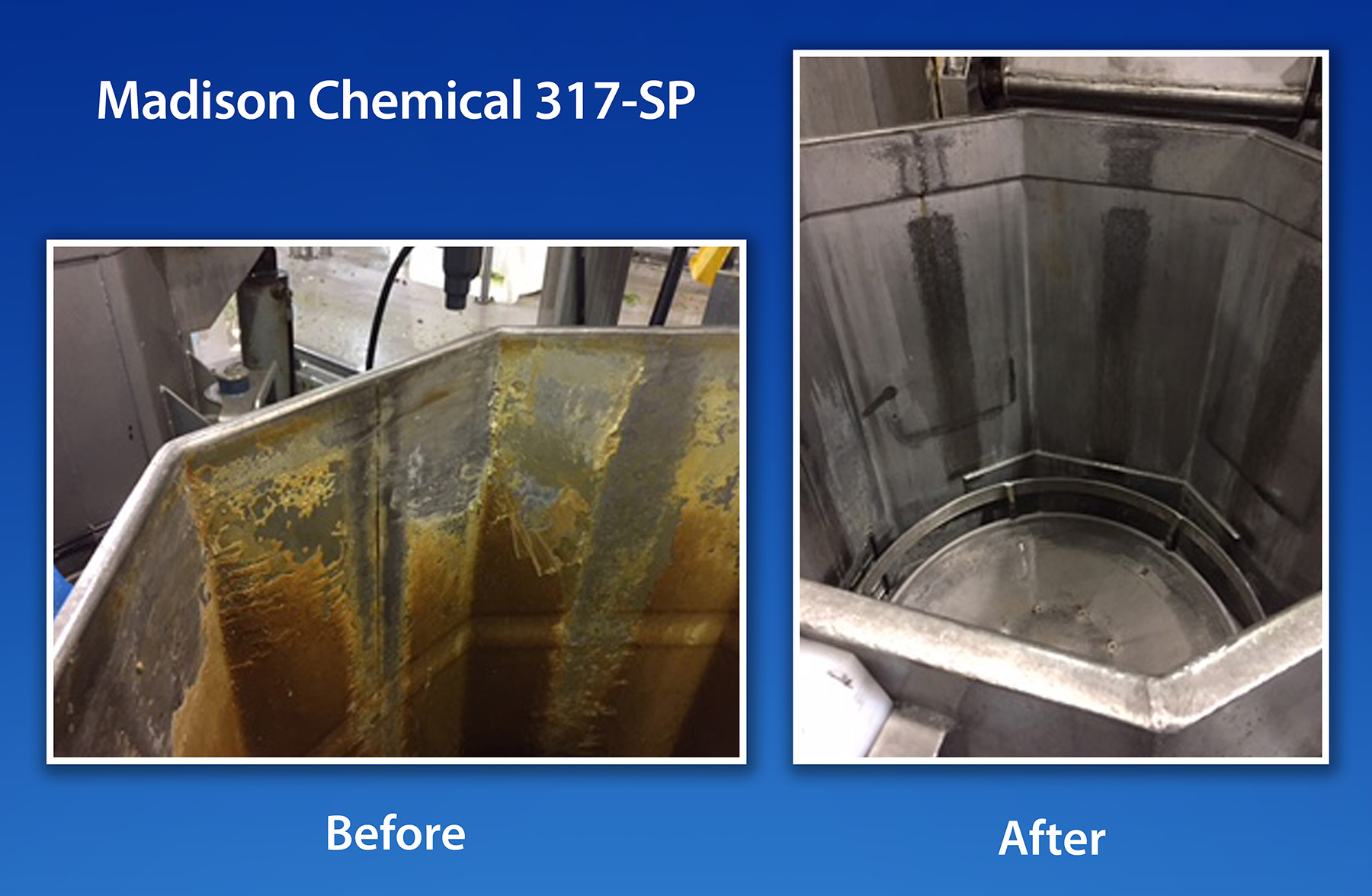 Madison Chemical foam clean