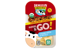 Horizon Organic Good & Go snacks