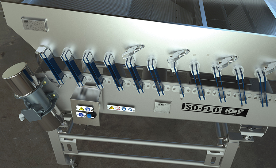 Key Technology introduced new features to its lineup of vibratory conveyors.