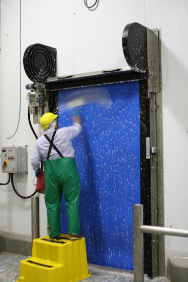 Rite-Hite FasTrax Clean Room Doors