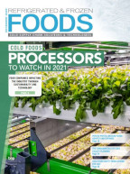 Refrigerated & Frozen Foods December 2020 Cover