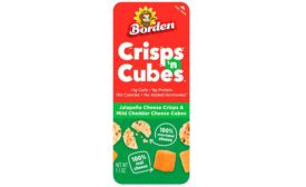 Borden Cheese launched Crisps 'n Cubes Snack Packs