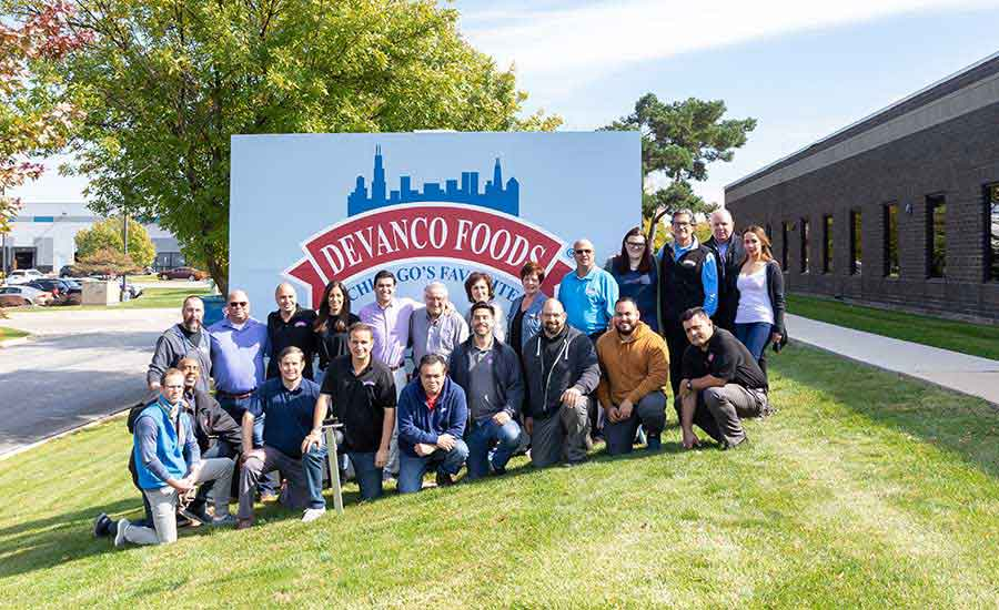 Employees at Devanco Foods
