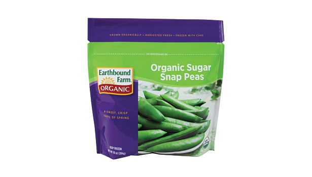 Earthbound Farm snap peas