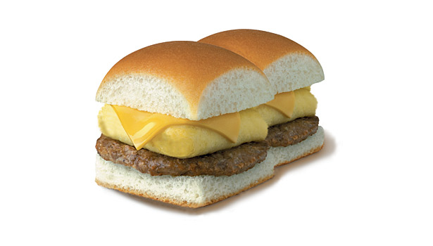 First Fast Food Breakfast Sandwich