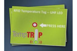 Temptrip cold chain RFID tag