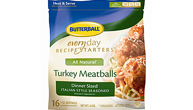 Butterball turkey meatballs