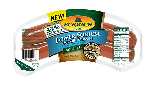 Eckrich low sodium franks