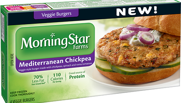 MorningStar chickpea burger