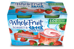 J&J Greek frozen yogurt
