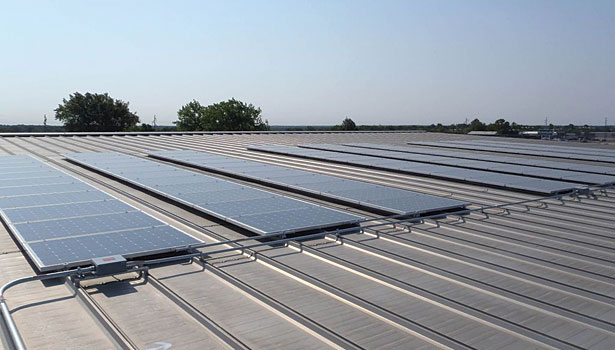 Agriculture solar rooftop