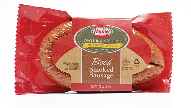 Hormel beef smoked sausages