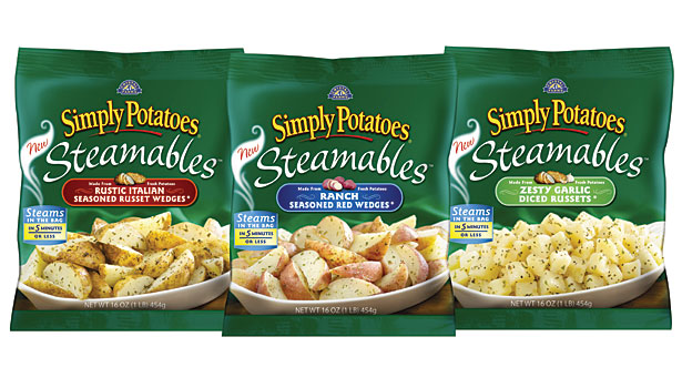 Simply potatoes steamables