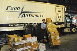Food Authority trucks