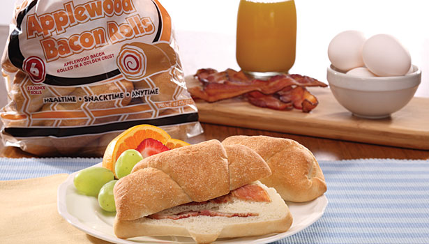 Stefano Foods bacon roll